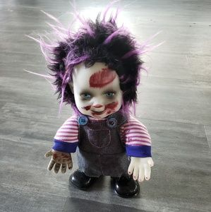 Horror Doll Child Collectible Halloween Decor